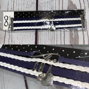 5 for $25 CNA leather bracelet new in package